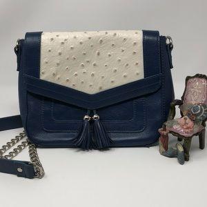 Audrey Brooke Genuine Leather/Ostrich Purse